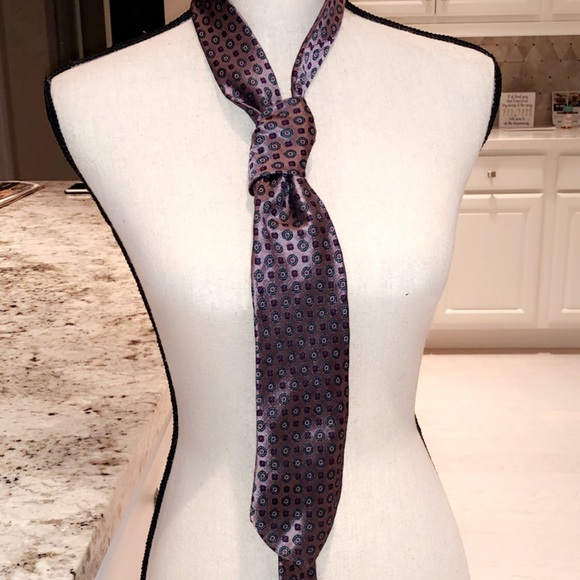 Other - SAKS FIFTH AVENUE 100% SILK MENS TIE